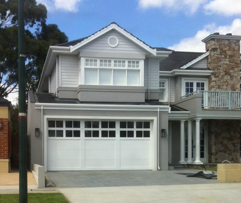 Garage door panels with windows - Hampton Design Garage Doors Danmar Garage Doors